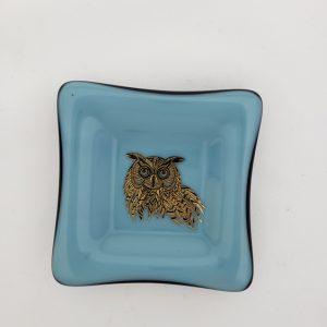 Blue Crazy Bowl - Owl