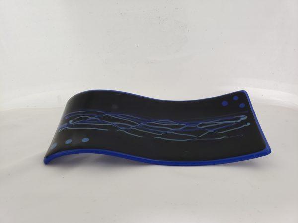 Black/Blue Spoon Rest